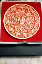 THAI JATUKAM GOOD LUCK BUDDHIST AMULET IN PLASTIC TEMPLE BOX
