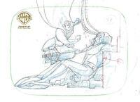 Warner Brothers Animated Series Prod Drawing Superman/Brainiac-Stolen Memories