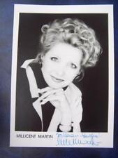 Millicent Martin  - autograph (GC5) 5 x 7  inch