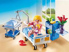 Playmobil - Kinderklinik - Krankenzimmer mit Babybett, NEU, OVP, 6660