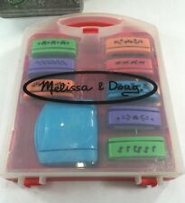 Melissa & Doug Paper Punch Set with Case, Heavy Duty press 8 Punch inserts