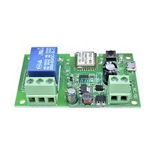 Conmutador inteligente Inalámbrico Wifi sonoff Casa Módulo de Relé auto bloqueo 5V-12V