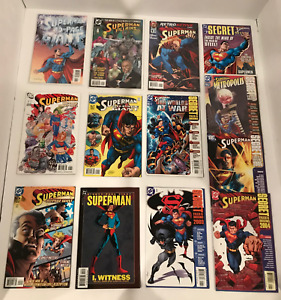 LOT OF 25 SUPERMAN SECRET FILES AND ORIGINS / 80 PAGE GIANTS/ 1 SHOTS 1998-2010