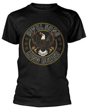 Rival Sons 'Long Beach Eagle' (Black) T-Shirt - NEW & OFFICIAL!