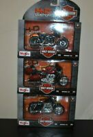 MAiSTO S/3 MOTOR Harley-Davidson Cycles Series 34 Motorcycle Plastic Toy 1:18