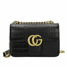 Women Handbag PU Leather Chain Shoulder Bag Messenger Tote Crossbody Bags Purse
