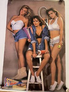 Student Bodies 1990 original Poster 23x35 Man Cave Garage Hot Girls School Model