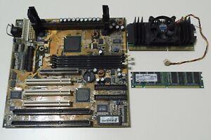 Asus P2L-B SLOT1 + CELERON433 + 128Mb SDRAM