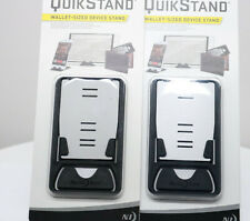 2-Pack Nite Ize QuickStand Wallet Sized Stand - Black/ Silver
