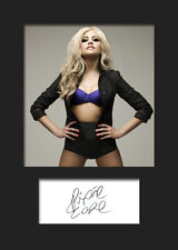 PIXIE LOTT #2 Signed Photo Print A5 Mounted Photo Print - FREE DELIVERY
