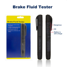 Brake Fluid Tester LED Moisture Water Compact Tool Test Indicator Pen DOT3/4 P8
