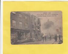 GREAT  FIRE  ,  MAIDSTONE  1910   .     KENT     ( Wm 14)