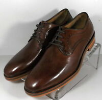 153926 FT50 Men's Size 11.5 M Brown Leather Lace Up Shoes Johnston Murphy