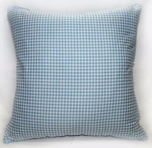 Ra004a Light Blue Soft Cotton Fabric Cushion Cover/Pillow Case*Custom Si