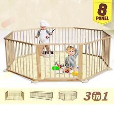 Parque de Bebe Parque Infantil XL 8 Piezas Altura 70cm Plegable Juego Habitacion