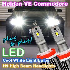 #H82 H9 LED Headlight for HOLDEN VE & VE-II COMMODORE SSV SS SV6 HSV High Beam