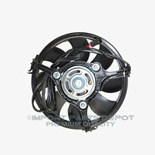 Radiator Auxiliary Cooling Fan Motor Audi VW Volkswagen A4 Passat A8 Quattro