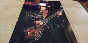 BOB DYLAN Autographed signed photo