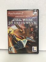 Star Wars: Starfighter Greatest Hits (Sony PlayStation 2, 2002) Video Game