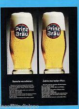 QUATTROR966-PUBBLICITA'/ADVERTISING-1966- PRINZ BRAU - BIRRA  (versione B)