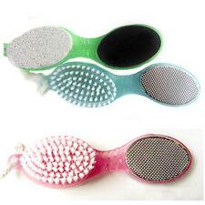 Remover 4in1 Foot Care Stone Callus Brush Pumice Scrubber Pedicure Exfoliate