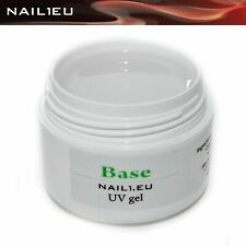 "Haft-Gel, klar, weich, flüssig. ""NAIL1EU BASE"" 7 ml/ UV Grundier-Gel Bonding-gel"