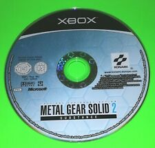 Metal Gear Solid 2 Substance XBOX ORIGINAL Disc Only Video Game Konami Stealth