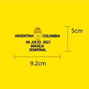 ARGENTINA VS COLOMBIA 06.07.2021 COPA 2021 SEMI FINALS MATCH DETAILS COLOMBIA