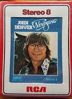 John Denver Windsong 8-track Factory Sealed
