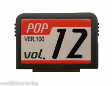 Magic Sing EnterTech Song Chip POP #12 New Release / Latin - 137 Songs