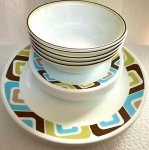 NEW 19 pieces Vintage Corelle Vitrelle Dinnerware