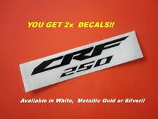 CRF 250 SIDE PANELS  STICKERS