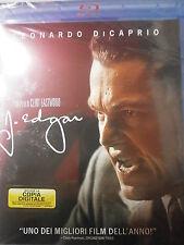 J.EDGAR FILM IN BLU-RAY NUOVO DA NEGOZIO ANCORA INCELLOFANATO PREZZO AFFARE!!!