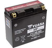 Batterie Moto Yuasa YT14B-BS  12v 12Ah avec acide