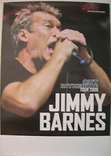 JIMMY BARNES CONCERT TOUR POSTER 2008 OUT IN THE BLUE COLD CHISEL