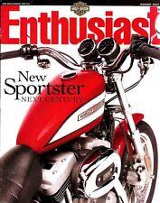 New listing Summer 2003 Harley-Davidson Enthusiast Magazine -2004 Harleys-New Sportsters