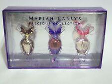 MARIAH CAREY MINI PERFUME COLLECTION 3PC SET M GOLD LUSCIOUS PINK WOMEN 5 ML NIB
