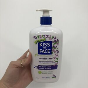 Kiss My Face Ultra Moisturizer Lavender Shea Butter - 16 Fl Oz