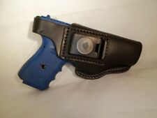 Holster Glock 17/19/22/23/26/27/31/32  Worn inside or outside Black Leather