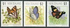 New Zealand 1075-1077,MNH.Mi 1208-1210. Butterflies 1991.Ringlet,Blue,Admiral.