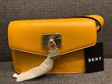 Dkny Elissa Leather Belt Bag, - Mango/Gold 128.00