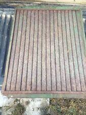John Deere tractor  radiator shutter shutter