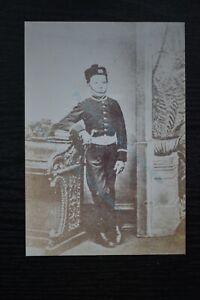 Military Photo Print King's Shropshire Light Infantry Bandboy with Pillbox Hat