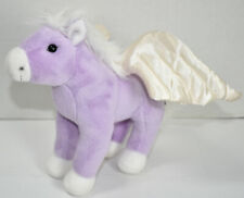 FAO Schwarz LAVENDER PURPLE PEGASUS WINGED HORSE Stuffed Animal PLUSH SOFT TOY