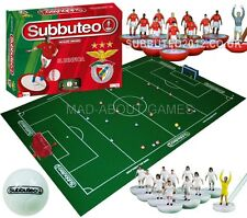 Official SL BENFICA Subbuteo Board Game Set Boys Mens Gift Toy Football Soccer