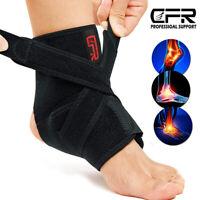 Ankle Support Compression Plantar Fasciitis Sleeve Sport Foot Heel Strap Brace