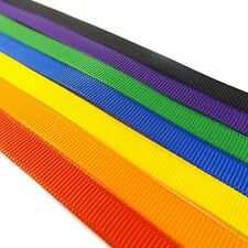 Mixed Ribbon Multi Pack Various Colours Top Quality - 50g (30m) Satin, Grosgrain