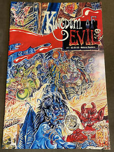 Kingdom of Evil #1 1st Print 1992 Outsider Comix S. Clay Wilson Checkered Demon