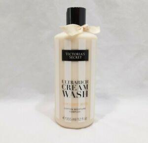 Victoria's Secret Ultrarich Cream Wash  COCONUT MILK 12 oz  New Cotton Moisture