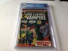 FEAR 28 CGC 9.4 WHITE PAGES MORBIUS THE LIVING VAMPIRE MARVEL COMICS
